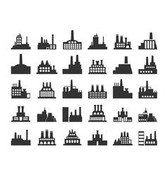 Factory icon4 vector image