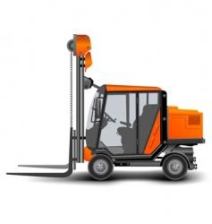 Freight elevator vector