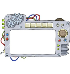 mechanical frame vector image vector image