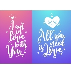 Modern typography design cute vector