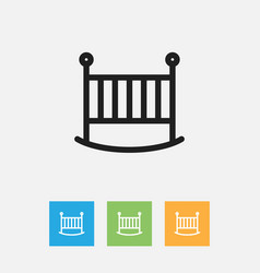 Of family symbol on bed vector