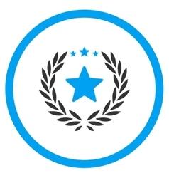 Proud flat icon vector
