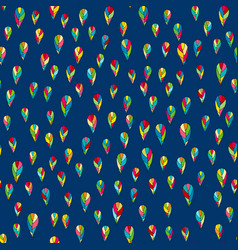 Seamless abstract hand drawn pattern for vector