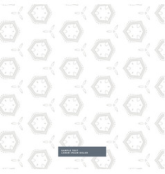 White background with gray geometric pattern vector