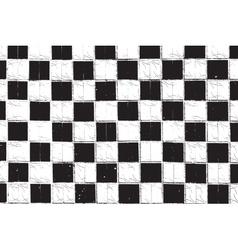 Checkered Grunge vector image