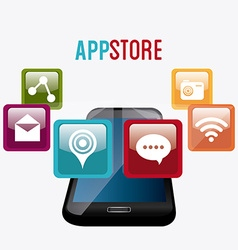 App store digital design vector