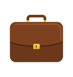 Suitcase icon bag design graphic vector