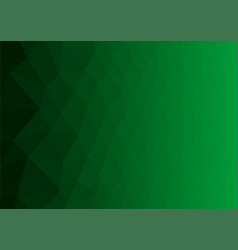 abstract green background with poligonal elements vector image vector image