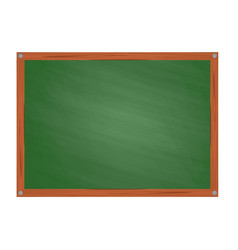 school green board in cartoon style vector image