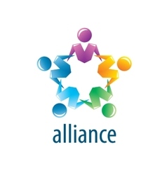 Human alliance logo vector