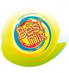 best mix vector image vector image