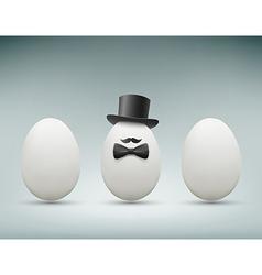 Chicken egg stock vector