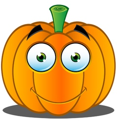 Pumpkin Face 18 vector image