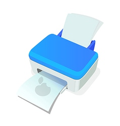 Icon printer vector