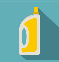 Bottle of conditioning or detergent icon vector