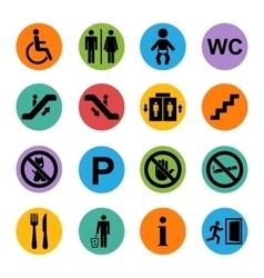 Public icon basic vector