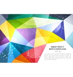 Abstract background technology wallpaper vector image vector image