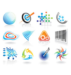 Graphic symbols vector