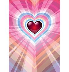 heart 05 vector image vector image