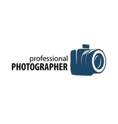 Logo camera the photographer vector
