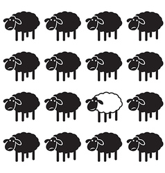 Sheep concepts vector
