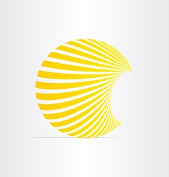 Sun energy solar icon vector