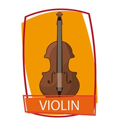 Violin instrument vector