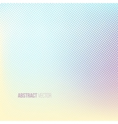 Halftone background color square shape banner vector