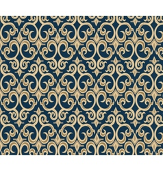 Gothic style ornament pattern background vector image