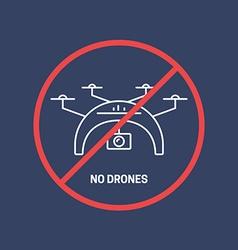 No drones vector