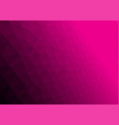abstract magenta poligonal background vector image vector image