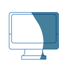 Monitor screen computer device technology smart vector