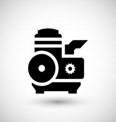 Motor icon vector image vector image