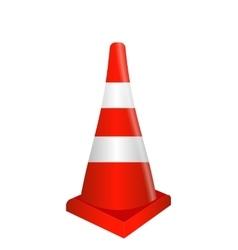 Road signs Orange Badge guardrails vector image