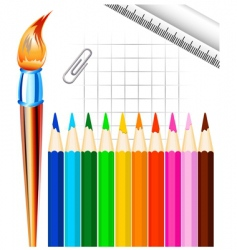 stationary vector image vector image