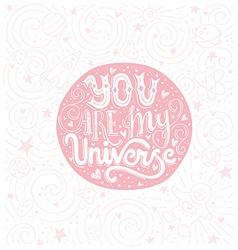 My universe vector