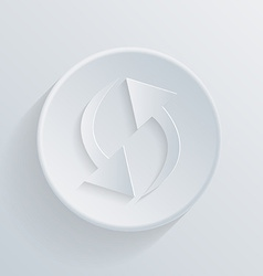 update circle icon vector image