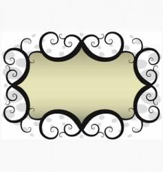Swirl banner vector