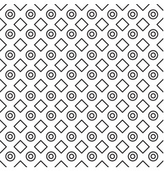 Geometric black and white minimalistic pattern vector