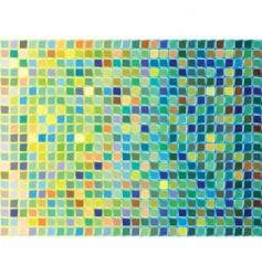 Mosaic pattern vector
