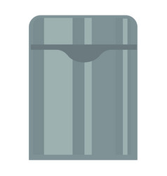 simple metal can vector image