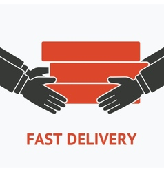 Concept for delivery service vector