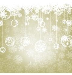 Beautiful elegant happy christmas card eps 8 vector