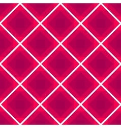 Seamless checkered tablecloth background vector