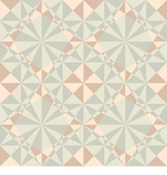 Seamless geometric pattern in pastel colors vector