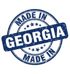Made in georgia vector