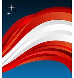 Austria flag background vector image