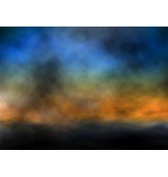 Dusk sky vector image vector image