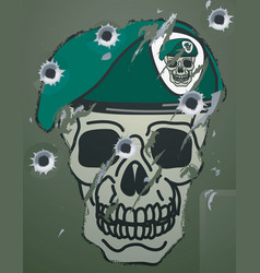 Military motif vector