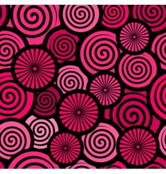 retro red abstract background vector image